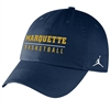 Marquette Golden Eagles Jordan Basketball Campus Cap Navy