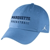 Marquette Golden Eagles Jordan Basketball Campus Cap Valor
