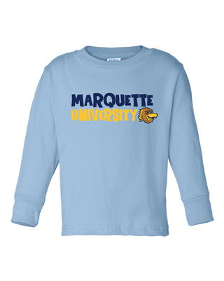 Toddler Blue Iggy Long Sleeve Tee
