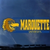 Marquette Golden Eagles Iggy Bar Decal