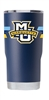 Marquette University Stripe Navy Insulated 20 oz Tumbler