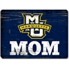 Marquette University Mom Wood Magnet