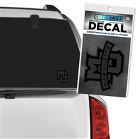 Marquette University MARQUETTE Black-out Decal