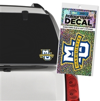 Marquette University Holographic Decal
