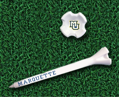 Marquette Golden Eagles Performance Golf Tee Pack of 10