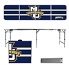 Marquette Portable Folding Table Stripe Design