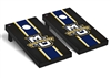 Marquette Regulation Cornhole Game Set Onyx Stripe