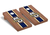 Marquette Regulation Cornhole Game Set Rosewood Stained Stripe