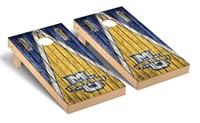 Marquette Regulation Cornhole Game Set Triangle Weathered Version