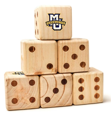 Marquette Wooden Yard Dice