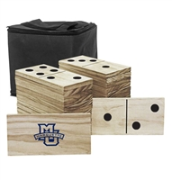 Marquette Wooden Yard Dominoes
