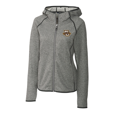 Marquette University Ladies' Mainsail Grey Hooded Jacket