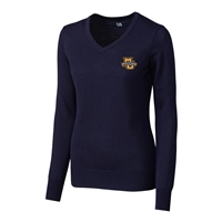Marquette University Ladies' Douglas V-Neck Sweater