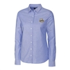 Marquette University Ladies' French Blue Stretch Oxford