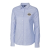Marquette University Ladies' Light Blue Stretch Oxford