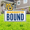 Marquette Bound Lawn Sign