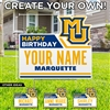 Marquette Customized Birthday Lawn Sign