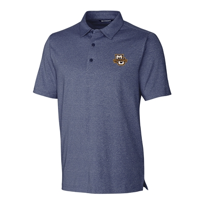 Marquette University Forge Indigo Heather Polo