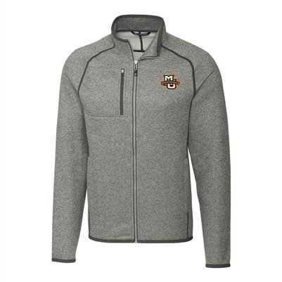 Marquette University Mainsail Full Zip Jacket Grey