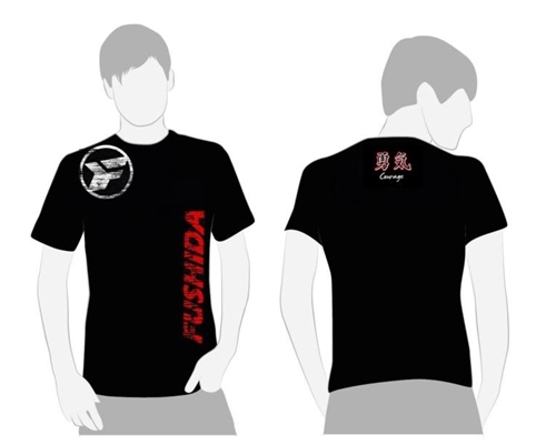 Fushida Respect/Courage T-shirt - MENS Cut