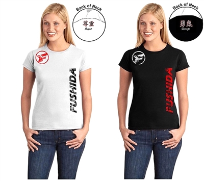Fushida Respect/Courage T-shirt - LADIES Cut