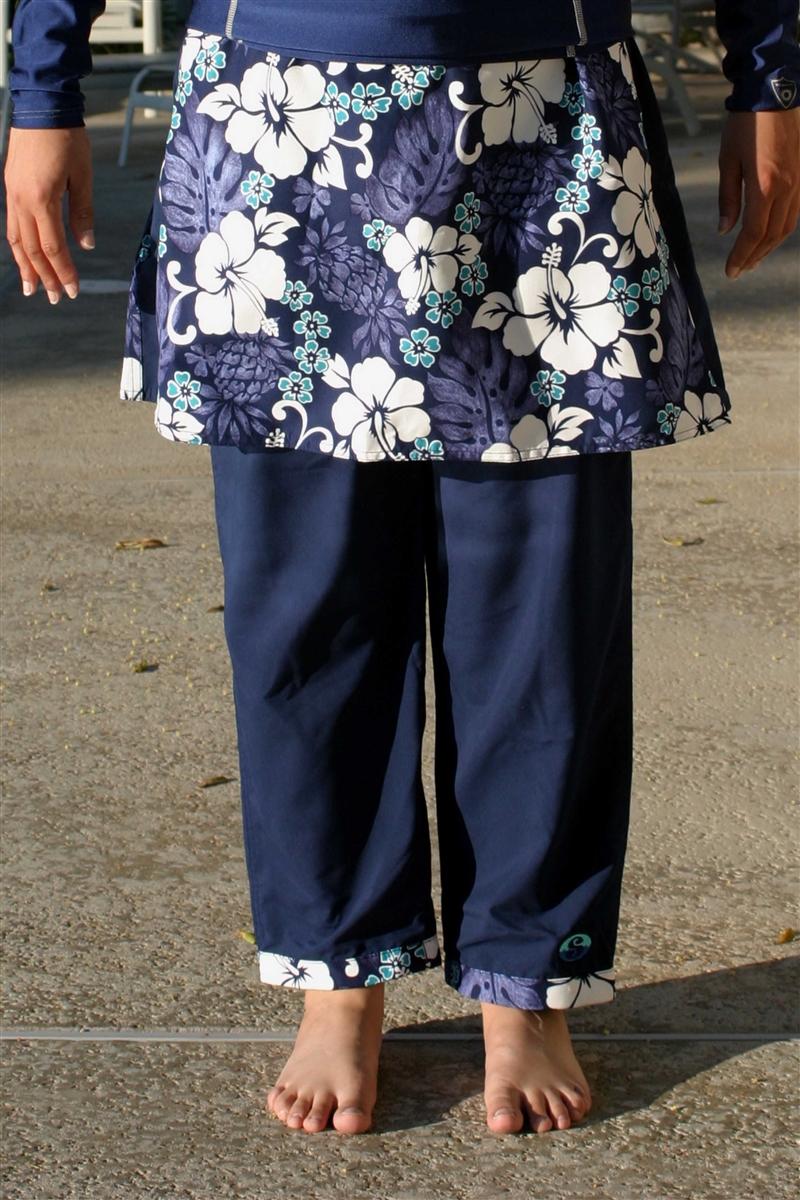 7a2fca5f815f6 Splashgear Hawaiian La Femme modest full coverage Muslim Jewish Chrstian  plus size Islamic UV protection swimwear