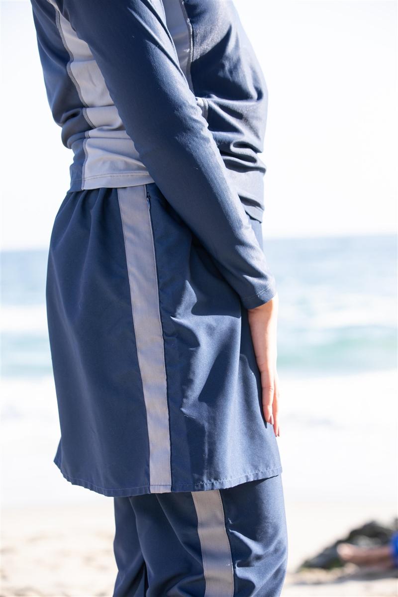 ffd1186a859 Splashgear Sport Stripe La Femme modest full coverage Muslim Jewish ...