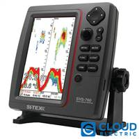 "SI-TEX SVS-760 Dual Frequency Sounder with 7.5"" Color LCD Display - 600W Output"