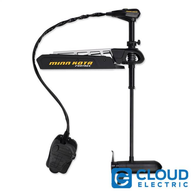Minn Kota Fortrex 80/FC/BG Freshwater, Bow Mount, Foot Control, Cable-Steer - 24v-80lb-52""
