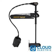 Minn Kota Fortrex 112/FC/BG Freshwater, Bow Mount, Foot Control, Cable-Steer - 36V-112lbs-52""