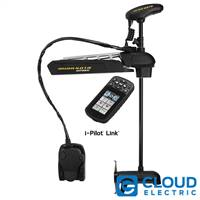 Minn Kota Ultrex 112/US2 Freshwater, Bow-Mount, i-Pilot Link, Wireless Remote and Foot Pedal, Electronic Power Steering, Sonar - 36V-112lb-52""