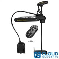 Minn Kota Ultrex 112/US2 Freshwater, Bow-Mount, i-Pilot, Wireless Remote and Foot Pedal, Electronic Power Steering, Sonar - 36V-112lbs-52""