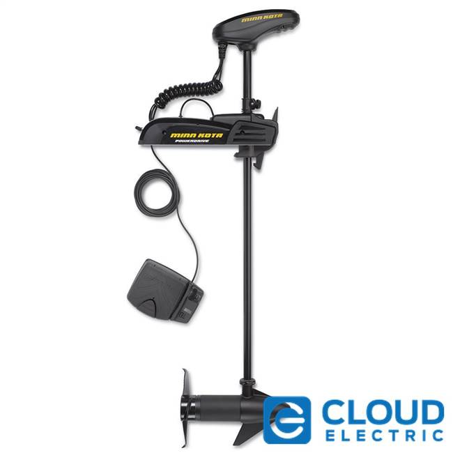 Minn Kota PowerDrive 45 Freshwater, Bow-Mount, Foot Control, Electronic Steering - 12V-45lb-48""