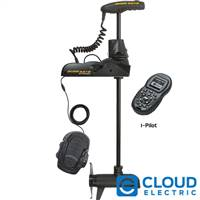 Minn Kota Ulterra 112/US2 Freshwater, Bow Mount, i-Pilot, Wireless Remote and Foot Pedal, Bluetooth, Sonar, Auto Stow and Deploy - 36V-112lb-72""