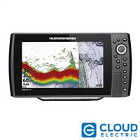 Humminbird HELIX® 10 CHIRP Fishfinder/GPS Combo G3N w/Transom Mount Transducer