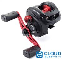 "Abu Garcia 1365366 Black Max Low Profile Reel, 6.4: 1 Gear Ratio, 5 Bearings, 26"" Retrieve Rate, 18Lb Max Drag, RH, Boxed"