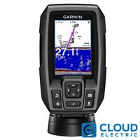 "Garmin STRIKER™ 4 FishFinder 3.5"" 77/200kHz Transom-Mount Transducer, 4-Pin"