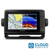 "Garmin echoMAP™ CHIRP Plus 72cv 7"" with Worldwide Basemap No Transducer"