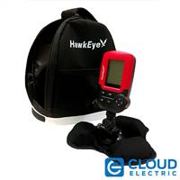 HawkEye® FishTrax™1 Handheld Fish Finder with IceShack™ Kit
