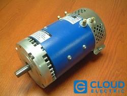 Motor D&D ES-33 36-48 VDC Series Wound Single Shaft