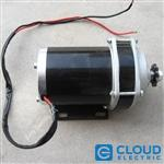 Small Slow 36V, 500W Electric Motor