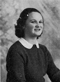 Helene Houston American Red Cross WWII