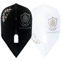 Dynasty Logo Shape Champagne Flight