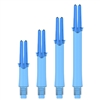 L-SHaft Locked Straight -Clear Blue