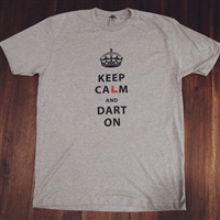 L-style Keep Calm and Dart On Tee