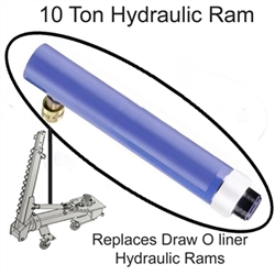 "Draw O Liner 10 ton ram 10"" Stroke  OEM Replacement"