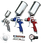 ATD tools 6900 9 Pc. HVLP Spray Gun Set