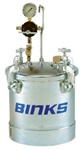 Binks 83C-210 Pt II™ A.S.M.E. Code Pressure Tank, Single Regulation