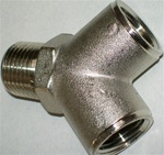 "Champion C82600-08-08 Two-Way Outlet ""Y"" Adapter 1/2"" Male X 1/2"" Female NPT"