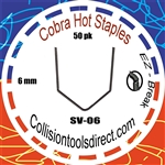 COBRA Hot Staples SV-06 V-Pattern 6mm